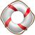 rojo · salvavidas · blanco · mar · buque · vida - foto stock © robertosch