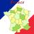 地図 · フラグ · ボタン · フランス語 · 共和国 · フランス - ストックフォト © robertosch