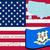 mapa · Connecticut · verde · azul · padrão · EUA - foto stock © robertosch