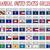 conjunto · mundo · bandeiras · padrão · eps · 10 - foto stock © robertosch