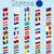 セット · 世界 · フラグ · ベクトル · ボタン · 中国語 - ストックフォト © robertosch