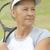 portré · érett · nő · tenisz · sport · fitt · aktív - stock fotó © roboriginal