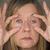 疲れ · 女性 · 片頭痛 · 頭痛 · 肖像 - ストックフォト © roboriginal