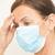 исчерпанный · медицинской · медсестры · маске · лице · портрет - Сток-фото © roboriginal