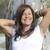 gelukkig · tevreden · aantrekkelijk · rijpe · vrouw · portret · mooie - stockfoto © roboriginal