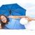 gelukkig · rijpe · vrouw · strand · portret · aantrekkelijk - stockfoto © roboriginal