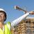 portrait woman engineer construction site stock photo © roboriginal