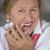 nő · fájdalom · fogfájás · portré · vonzó · érett · nő - stock fotó © roboriginal