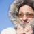 Winter · Jacke · Porträt · anziehend - stock foto © roboriginal