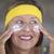 skin care creme joyful mature woman stock photo © roboriginal