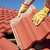 Construction worker tile roofing repair  stock photo © roboriginal