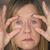 疲れ · 女性 · 頭痛 · 肖像 - ストックフォト © roboriginal