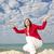 肖像 · 幸せ · 成熟した女性 · 孤立した · 空 · エレガントな - ストックフォト © roboriginal