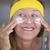 skin care creme protection mature woman stock photo © roboriginal