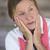 悲しい · 成熟した女性 · 肖像 · 魅力的な - ストックフォト © roboriginal