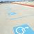 parkeren · teken · gehandicapten · mensen · Blauw · gehandicapten - stockfoto © roboriginal