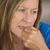 tímido · atraente · mulher · madura · retrato · amigável · sorrir - foto stock © roboriginal