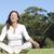 ヨガ · 瞑想 · 成熟した女性 · 魅力的な - ストックフォト © roboriginal