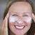 bőrápolás · testápoló · mosolyog · érett · nő · portré · sportos - stock fotó © roboriginal