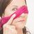 retrato · con · los · ojos · vendados · atractivo · mujer · madura - foto stock © roboriginal