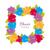 çiçek · çerçeve · çelenk · farklı · yeşil · yaprakları - stok fotoğraf © robuart