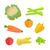 set of vegetables vector illustration stock photo © robuart
