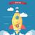 開始 · アップ · 画像 · ロケット · 燃えるような · 安全 - ストックフォト © robuart