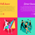 set of dancing vector web banners in flat design stock photo © robuart