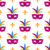 mardi gras festival mask vector wrapping paper stock photo © robuart