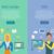 web design seo infographic set stock photo © robuart