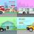 Stadt · Transport · sechs · Straße · Jahrgang · Fahrer - stock foto © robuart