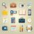 obrotu · piktogram · biuro · Internetu · człowiek · projektu - zdjęcia stock © robuart