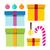 vector · establecer · colorido · caja · de · regalo · símbolos · diseno - foto stock © robuart