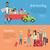 vetor · homem · condução · carro · feliz - foto stock © robuart