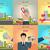 internetowych · strona · banery · wektora · działalności · finansowych - zdjęcia stock © robuart
