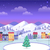 decorated christmas town with houses and ice stock photo © robuart