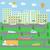 isometrische · ontwerp · school · gebouwen · gymnasium · tabel - stockfoto © robuart