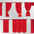 red curtains set theater curtain illustration stock photo © robuart