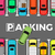 stationnement · illustration · voiture · design · art · bâtiments - photo stock © robuart