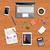 equipe · de · negócios · local · de · trabalho · topo · ver · pessoas · de · negócios · laptop - foto stock © robuart