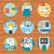 procede · levering · poster · iconen · kopen - stockfoto © robuart