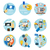icons set for business e shopping logistics stock photo © robuart