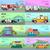 voiture · bannières · louer · voitures · commerce - photo stock © robuart