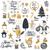 Fuchs · Weihnachten · Illustration · tragen · Schal · Dekoration - stock foto © robuart