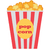 popcorn box vector traditional salty sweet snack stock photo © robuart