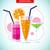 bebidas · menú · botellas · botella · forma · vector - foto stock © robuart