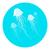 monokróm · meduza · lebeg · űr · hosszú · izolált - stock fotó © robuart
