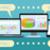 sociale · pagina · laptop · tablet · cellulare - foto d'archivio © robuart