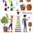 winemaking icon set vintage elite strong wine stock photo © robuart