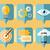 visie · ontwikkeling · vooruitgang · workflow · doel - stockfoto © robuart